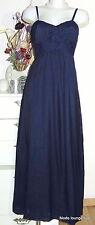 CCDK Copenhagen Long Kleid dress 40 L Marine Blau blue kjole Maxi-Kleid dark