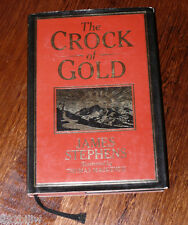 The Crock of Gold by James Stephens illustrated edition hcdj 1980