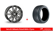 "Alloy Wheels & Tyres 15"" AC Volt For Nissan NV200 09-16"