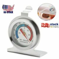 2021 Stainless Steel Dial Thermometer Temperature Gauge For Refrigerator Freezer