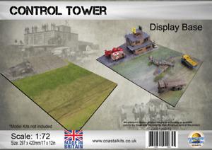 Coastal Kits 1:72 Scale WW2 Airfield Control Tower Display Base