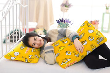 Gudetama yellow single pillowcase pillow case anime zip cases anime gift