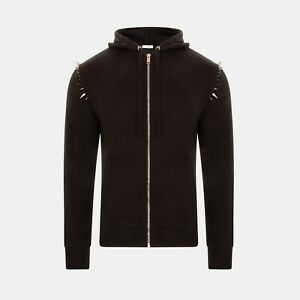 Valentino Spike Stud Hoodie In Black RRP £735 *SOLD OUT WORLDWIDE🌍*