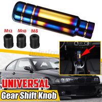Universale Alluminio Cambio Marce Cambio Leva Pomello M8/M10/M12 13CM Blu