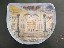 Franc-Maçonnerie tablier dit Voltaire RFM - Masonic apron