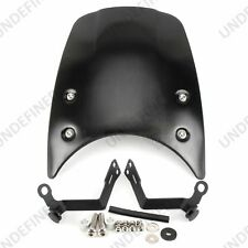 Black Front Fly Screen Headlight Fairing Cover For BMW R nine T R9T 2014-2017