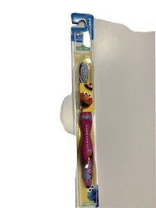Crest Kid's Sesame Street Soft Bristles Pink Toothbrush Featuring Abby and Elmo