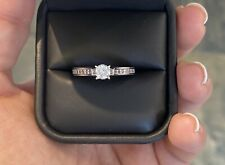 18ct White Gold Round Brilliant Cut Diamond Ring Total Ct 0.85ct RRP £1,575