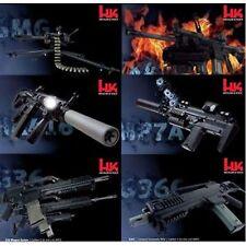 HECKLER & KOCH HK (6) POSTER SET HK 416 417 M320 GMG G36 MP7 G36C COLLECTORS SET