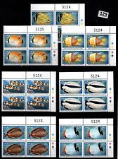 /// 4X MALDIVES - MNH - FISH