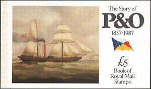 Great Britain #BK151 MNH The Story of P&O (Machin) booklet