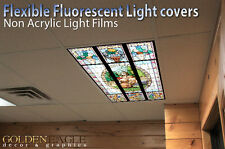 Flexible Fluorescent Light Cover Films Skylight Ceiling Office Medical Dental 59