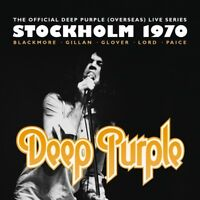 DEEP PURPLE - STOCKHOLM 1970 2 CD + DVD NEW!