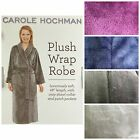 CAROLE HOCHMAN WOMEN'S PLUSH SOFT POLYESTER FLEECE WRAP ROBE free shipping
