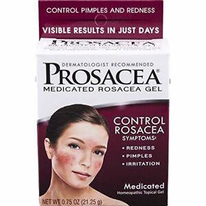 Prosacea Medicated Rosacea Gel Controls Rosacea Symptoms of Redness Pimples