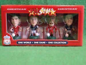Corinthian ProStars Liverpool 4 Window Pack, Gerrard, Riise, Xavier, Owen Mint