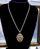 Vintage Trifari necklace pendant