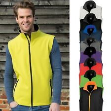 Hombre Chaleco Soft Shell Softshell Impermeable Cortaviento Talla Especial S-4XL