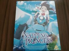 Napping Princess: Collector's Edition (Blu-ray + DVD) Anime Movie New Sealed