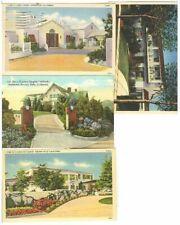 pc6100 postcard Movie Star Residence FOUR