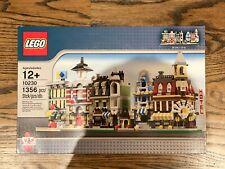 Lego City Mini Modular 10230 fire brigade emporium green grocer cafe corner NEW