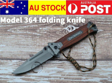 Browning Knife 364 Folding Pocket Survival Hunting Camping Outdoor Knife AU