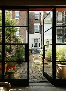 Industrial ORIGINAL Steel Single & French Any Size & RAL- Crittall inspired Door