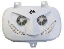 400835 Maschera faro bianca led T4Tune MBK Booster Spirit 50 00/02