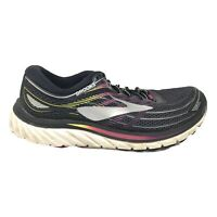 Brooks Glycerin 15 Running Shoes Womens Size 10 M Black White Gray Sneakers
