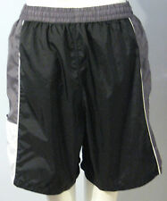 REEBOK Black Gray Men's Athletic Shorts