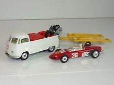 corgi VW VOLKSWAGEN RACING CLUB PICKUP TRAILER & FERRARI -  GS 37 (209)