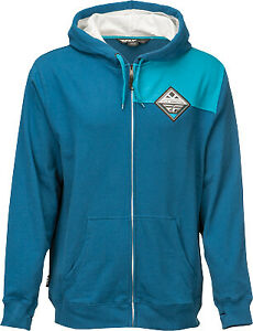 Fly Racing Patch Hoody 354-6281X XL Blue