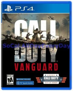 CoD Call of Duty Vanguard with Gift of Honor PlayStation 4 Physical, PRESALE ps4