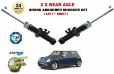 FOR MINI ONE COOPER S ONE D JCW 2001-2006 2X REAR LEFT RIGHT SHOCK ABSORBER SET