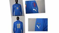 ITALY 2002/04' PUMA home SHIRT TRIKOT Long Sleeves player 18 Size L