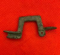 Rare Ancient bronze Roman brooch fibula