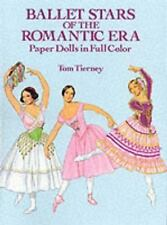Dover BALLET STARS OF THE ROMANTIC ERA Tom Tierney Paper Dolls Fine 1991