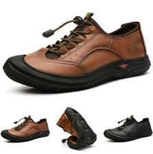 Mens Outdoor Climbing Round Toe Leisure Low Top Hiking Slip on Shoes Breathable