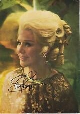Ginger Rogers Autograph, Original Hand Signed Sturdy Magazine Photo