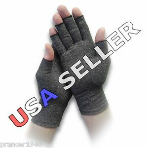 Mens & Womens Arthritis / Edema Compression Gloves for Pain / Swelling Relief