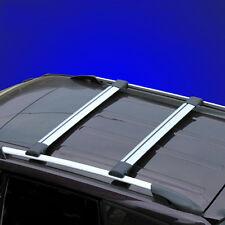 2x Universal Raised Rail Cross Bar Roof Rack Luggage Carrier For Honda Kia Lexus