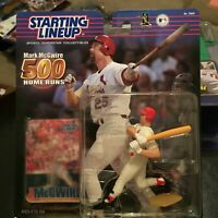 F45 2000 500HR MARK MCGWIRE CARDINALS Starting Line Up NIB FREE SHIPPING