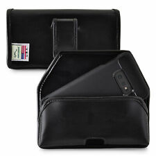 Galaxy S10e Holster Black Belt Clip Case Pouch Leather Turtleback