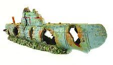 Military Submarine XL Aquarium Ornament 23 Inch Long for Larger Fish Tanks 2 pcs