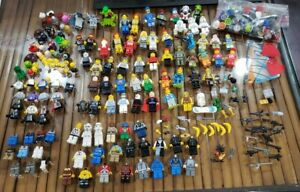 LEGO Lot of minifigures 40 complete 35 incomplete 75 accessories Star Wars more