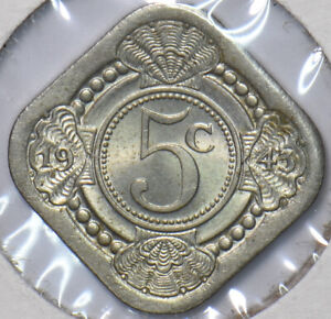 Netherlands 1943 5 Cents 295912 combine shipping