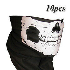 10x Bandana Novel Skull Bike Motorcycle Helmet Neck Face Mask Paint Ski Headband