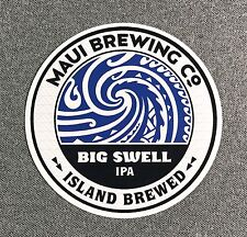 MAUI BREWING Co Big Swell Sticker 4in Brewery si