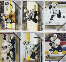 05/06 UD Series 2 Pittsburgh Penguins Team Set - Fleury Caron +