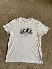 All Saints T Shirt White Small Oversized